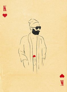 Move over, old deck of cards....There's a new  King of Hearts in town!    Artist Patrik Svensson has redesigned cards in such a clever way and sells them.
