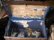 Steamer Trunk Restoration Procedures and Information
