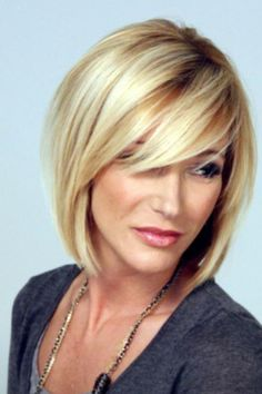 Like this cut. Perhaps a bit too blond for me??