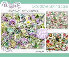 WendyP Goodbye Spring Sale