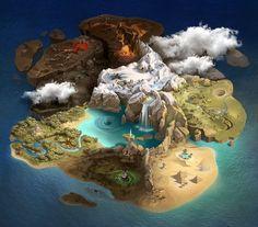 Image result for art map fantasy