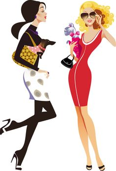 Womens Fashion Illustrations | fashion; women; shopping; illustrator; sexy; beautiful; mature ...