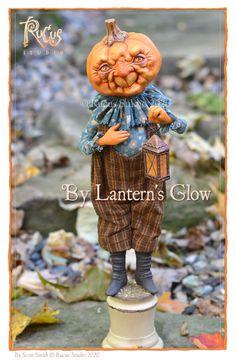 Rucus Studio Curiosity Shop Halloween Horror, Halloween Town, Halloween Pumpkins, Halloween Crafts, Holiday Break, Holiday Fun, Handmade Lanterns, Curiosity Shop, Pumpkin Art
