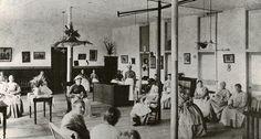 1892 Sitting Room in Asylum of Tewksbury Amshouse by PublicHealthMuseum, via Flickr