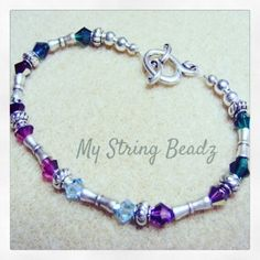 "Give mom the gift of a lovely Swarovski crystal bracelet that she helps design tea and dessert...and you too if possible!! Check out my ""Making Memories with Mom"" event on my website in the Making Memories Event page.  It's going to be a lovely afternoon!! #makingmemorieswithmom #fromtheheart #mystringbeadz"