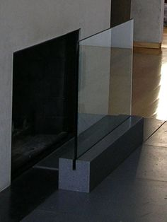 David Hertz, the Santa Monica architect who developed a lightweight concrete alternative called Syndecrete, designed this piece made of charcoal-colored Syndecrete and half-inch tempered flat-polished glass ($2,500). (310) 829-9704, www.syndecrete.com.