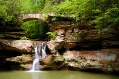 Discover Our Views: Our view today comes from the Buckeye State. Located primarily in Hocking County, Ohio, Hocking Hills is a geographical splendor boasting high cliffs, deep gorges, rocky shelters, and breathtaking waterfalls. Activities are bountiful and there is something for everyone; camping, hiking, canoeing, ziplining, and so much more. Pictured is Old Man's Cave, Hocking Hills most popular attraction.