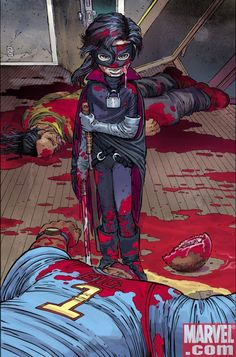 KICK-ASS #3 SECOND PRINTING VARIANT   Written by MARK MILLAR   Pencils and Cover by JOHN ROMITA JR.