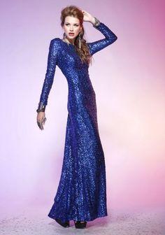 Awesome Blue Night Dress!