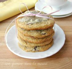 Anna Olson's Chocolate Chip Cookies