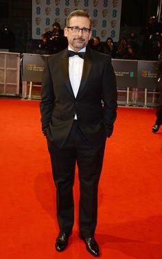 Pin for Later: Die Stars feiern bei den BAFTA Awards in London Steve Carell