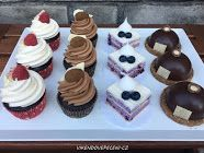 Cukrářské kurzy Baking Cupcakes, Mini Cupcakes, Cupcake Cakes, Cheesecake Brownies, Panna Cotta, Deserts, Cookies, Blog, Hampers