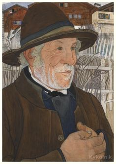 «The Vigneron» by Ernest Bieler (Swiss, 1863-1948)
