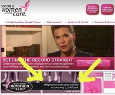 Cautionary tale: What you can learn from Susan G Komen and these examples.