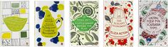 Penguin Books' Great Food series design by Coralie Bickford-Smith