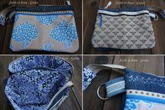 facile et beau - Gusta: Fünf-Fach-Tasche von Farbenmix