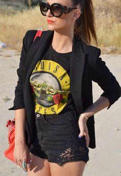 Prada Gafas / Gafas de sol, Zara Blazers and Primark Camisetas