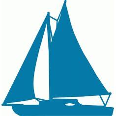 Silhouette Design Store - Search Designs : sailboat