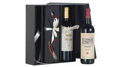 Botellas de #vino Pago de Carraovejas y Muga con accesorios