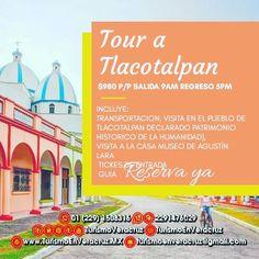 #Tlacotalpan nos espera mañana saliendo de #Veracruz o #BocaDelRio aprovecha a conocer este mágico lugar  📞OFICINA 1508316 📱 WhatsApp 2291476029 📨 turismoenveracruz@gmail.com 🌐 http://www.veracruztour.com/alvarado.htm
