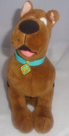 SCOOBY DOO Plush Animal Toy Cartoon Network 11 inch Sitting  #CartoonNetwork