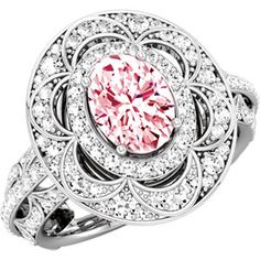14kt white gold oval engagement ring. To find a retailer near you, visit http://www.stuller.com/locateajeweler/ #engagementring