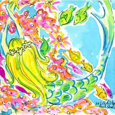 It's oFISHally the weekend, Lilly Pulitzer