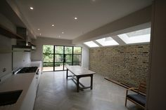 Side infill extension London - eclectic - Kitchen - London - Ajax Builders FLOOR