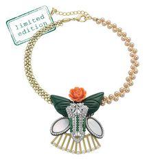 LA BELLE ROSE COLLAGE NECKLACE... Get it here: http://www.chloeandisabel.com/boutique/samantharivera
