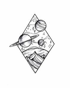 Doodle art 738731145115371515 - Source by Space Drawings, Cool Art Drawings, Pencil Art Drawings, Doodle Drawings, Easy Drawings, Doodle Sketch, Cool Simple Drawings, Hipster Drawings, Pencil Sketching