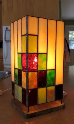"""I made this lamp for """"Sister Marie-Thérèse"""""""