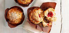 Apple e lampone colazione Muffin GRANDE