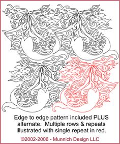 Munnich Design - Quilt Recipes: Digital Quilting Pattern - Browse All Patterns