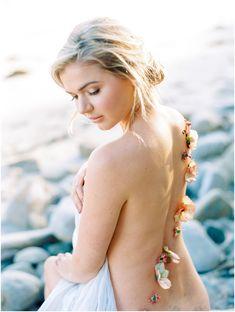 Santa Barbara Wedding Photography - Coastal Bridal Shoot in Malibu California