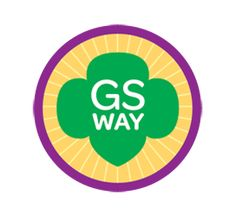 Requirements to earn the Girl Scout Way Junior Badge-- Match songs to an occasion. Step Celebrate the Girl Scout Birthday. Step Leave a place better than you found it. Girl Scouts Usa, Scout Mom, Girl Scout Leader, Brownie Girl Scouts, Girl Scout Troop, Junior Girl Scout Badges, Girl Scout Juniors, Girl Scout Songs, Girl Scout Crafts