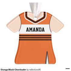 Orange/Black Cheerleader