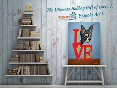 Brighten the #OfficeXmasParty with the #FurryPaw gift of love! #artwork #artlife #artoftheday #furrypawpics