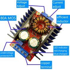 Boost Converter Circuit - Construction and Operation Power Electronics, Electronics Components, Electronic Engineering, Electrical Engineering, Switched Mode Power Supply, Pic Microcontroller, Custom Lighters, Dc Dc Converter, Electronic Schematics