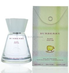 Baby Touch by Burberry Delicate eau de toilette 3.3 oz 100 ml Spray A light and delicate and Alcohol free eau de toilette for mothers and babies.