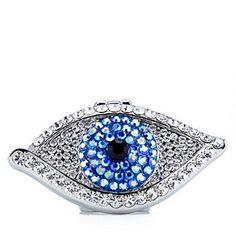 Butler & Wilson Adjustable Eye Ring with Mirror