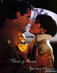 Yves Saint-Laurent (Perfumes) 1986 Paris je t'aime