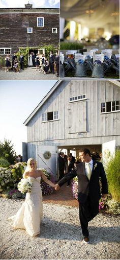 barn wedding by delores
