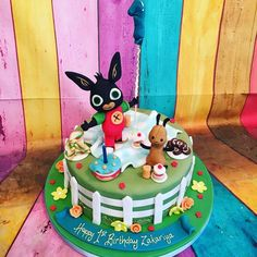 Bunny Birthday Cake, 3rd Birthday Cakes, Baby Boy Birthday, Bing Cake, Bing Bunny, Rabbit Cake, Happy 1st Birthdays, Halloween Cakes, Cakes For Boys