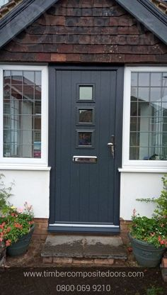 Simple, Sophisticated and O So Stylish! Design, price and order your perfect door online instantly! Timber Composite Doors are the UKs Solidor Supplier and installer! All Doors come with Finance available Contemporary Front Doors, Modern Contemporary, Doors Online, Composite Door, Small Garden Design, Door Design, Naples, Finance, Composition