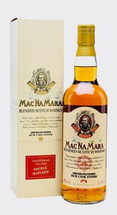 MACNAMARA RUM CASK FINISH BLENDED SCOTCH WHISKY, Scotland