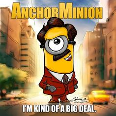 Anchorman 2 Minion