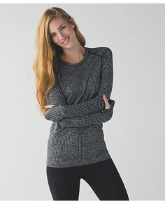 Was searching all over for Bobbi's sweater on Agents of Shield. FOUND IT. Instant SPLURGE.  Rest Less Pullover - Lululemon