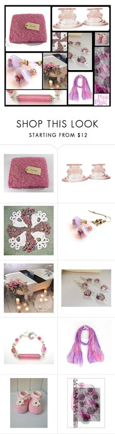 """Pink Passions"" by fibernique ❤ liked on Polyvore featuring Cadeau and vintage"