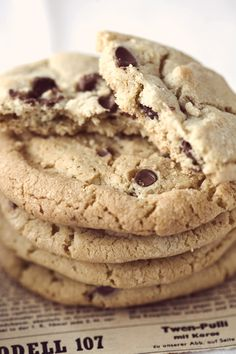 Happy National Chocolate Chip Cookie Day!        We think we found our favorite holiday.