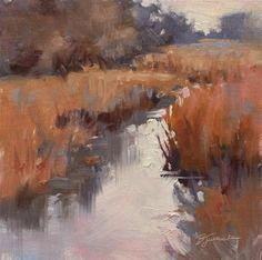"""""""A Quiet Moment"""" - Original Fine Art for Sale - © Barbara Jaenicke"""